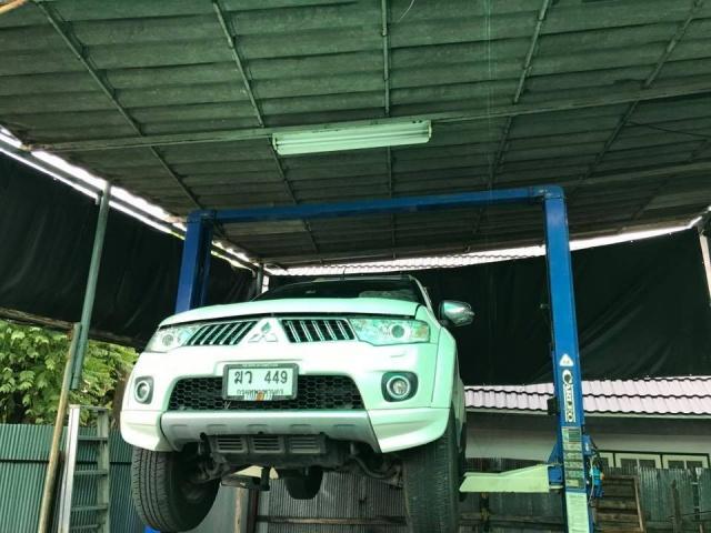 ซ่อมเกียร์ Mitsubishi pajero sport 5 Speed