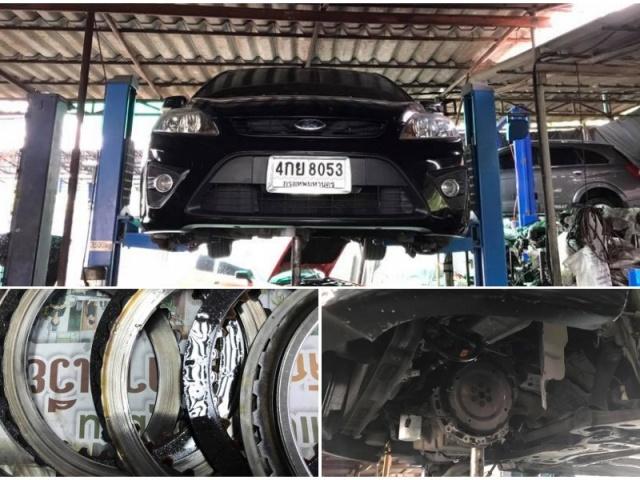 ซ่อมเกียร์ Ford Focus ช่วง Click down ลงมาเกียร์ 2