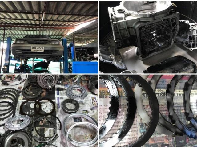 ซ่อมเกียร Toyota Camry รุ่นไม้บรรทัด